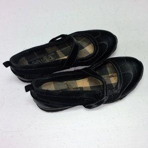 Mudd Black Slip ons Mary Janes Flats